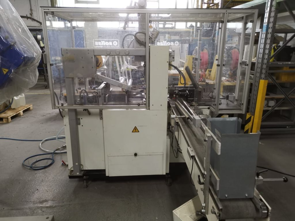 second hand Sollas 20 overwrapping machine