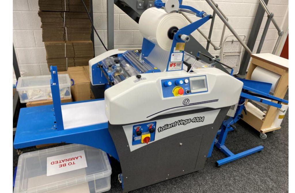 used laminator foliant ламинатор бывший в употреблении FOLIANT VEGA 400