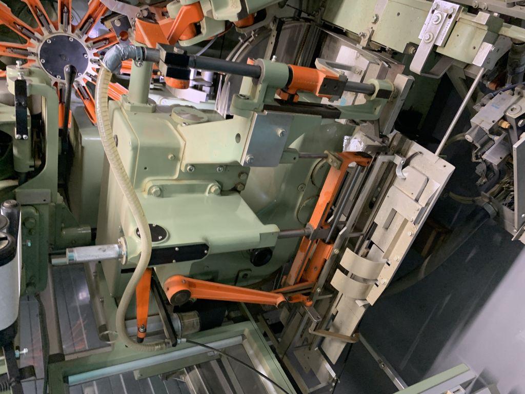 IMA C21 double chamber teabag machine