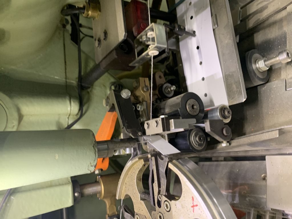 IMA C21 double chamber heat seal envelope teabag machine