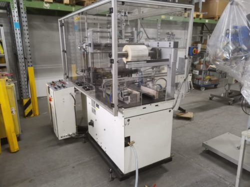 used Sollas 20 overwrapping machine