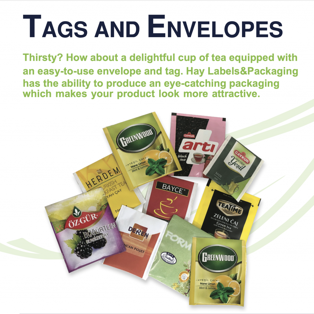 Tags and Envelopes